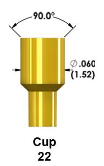 Pulse 100-mil Test Probe Tip 22