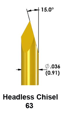 Pulse 100-mil Test Probe Tip 63