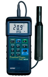407510: Heavy Duty Dissolved Oxygen Meter with PC interface