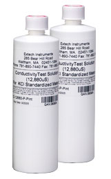 EC-12880-P: 12880µS Conductivity Standard (2 Bottles)