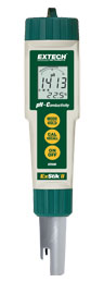 EC500: Waterproof ExStik® II pH/Conductivity Meter