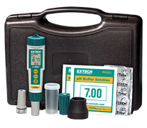 EX800: ExStik® 3-in-1 Chlorine, pH, Temperature Kit