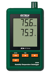 SD500: Humidity/Temperature Datalogger